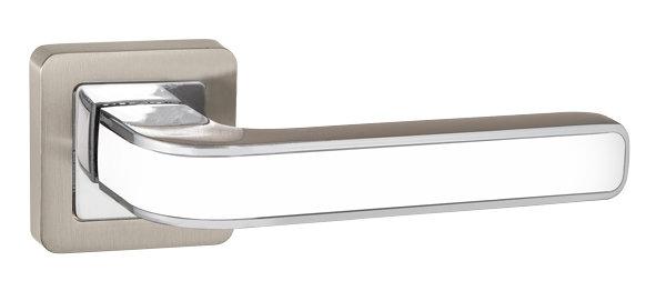 NOVA QR SN/WH-19 мат.никель/белый