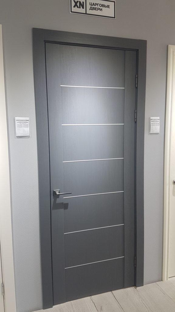 Profildoors 2.07XN Грувд серый