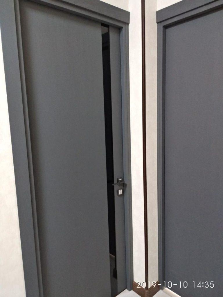 Profildoors 6ZN Грувд серый